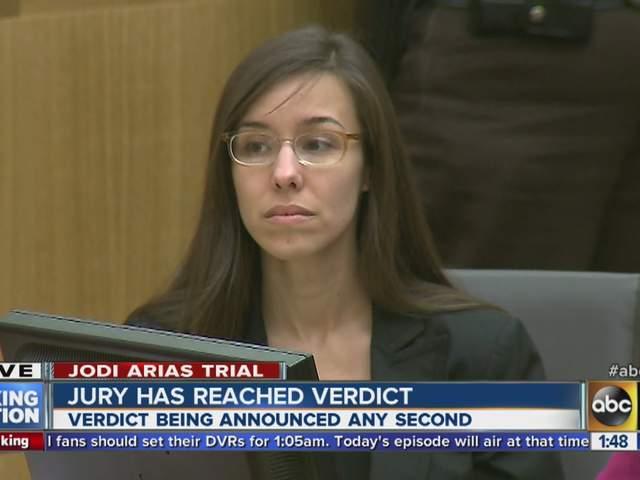 Verdict in Jodi Arias Murder Trial
