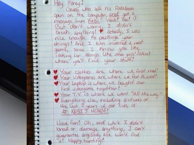 Happy Hunting Viral Breakup Letter Details Scavenger Hunt