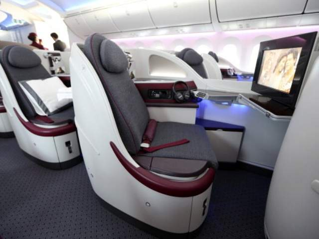 Bowing 787 dreamliner united airline flights cut short for First class 8 interieur