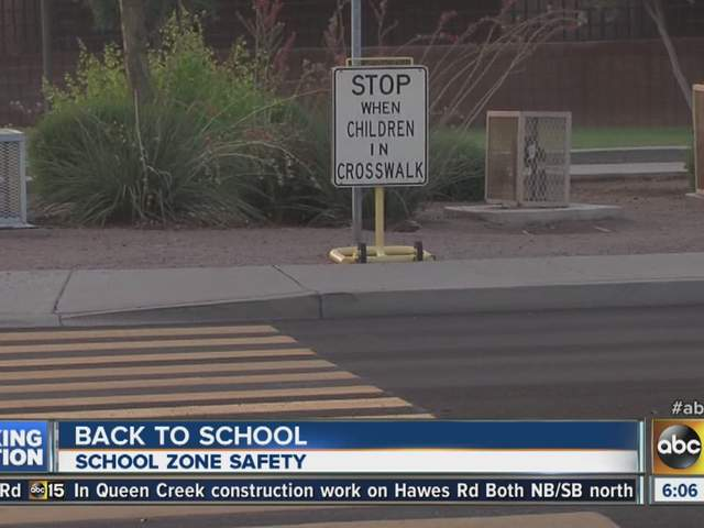 back to school tips driving safe around school zones abc15 arizona. Black Bedroom Furniture Sets. Home Design Ideas