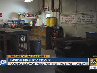VIDEO: Tour of hotshots' fire station