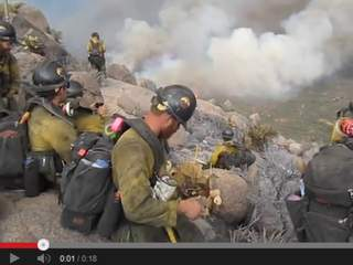 VIDEO: Last footage of 19 firefighters
