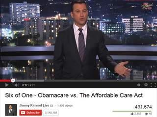 Jimmy Kimmel obamacare