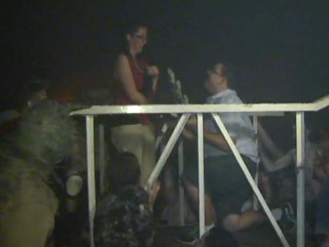 Haunted house proposal valley man pops the question for 13th floor phoenix arizona