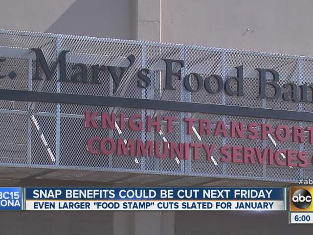 Cuts coming to food stamps as federal stimulus ends