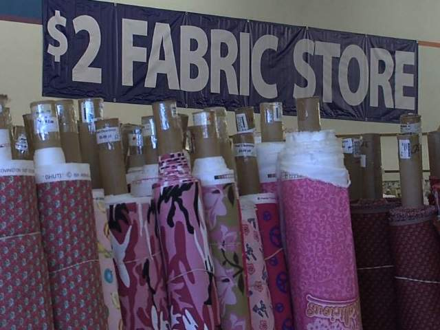 2 fabric store offers huge savings in phoenix abc15 arizona for Fabric outlet near me