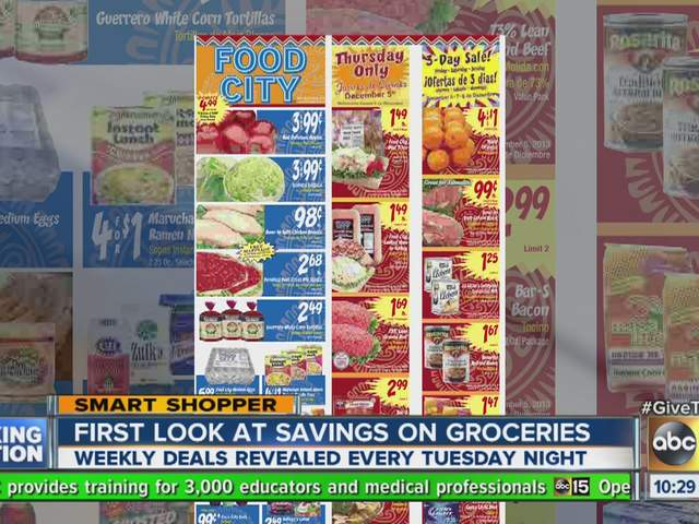 Best weekly grocery store deals