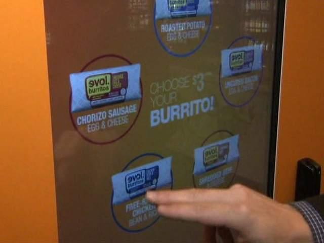 the burrito box vending machine