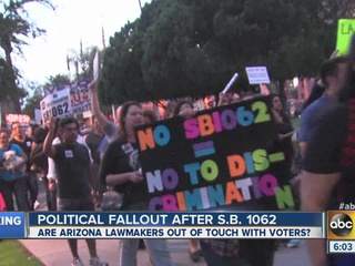 Fallout continues after veto of SB1062