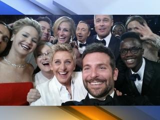 Wow! Ellen's Oscars selfie breaks Twitter record