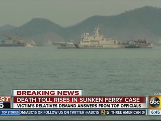 S. Korea ferry deaths hit 159 as relatives wait
