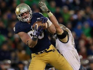Cards select Notre Dame TE Niklas in 2nd round