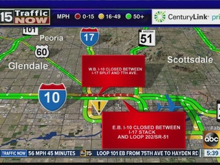 Freeway closure to cause problems this weekend