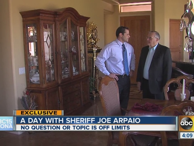 A day in the life of Sheriff Joe Arpaio