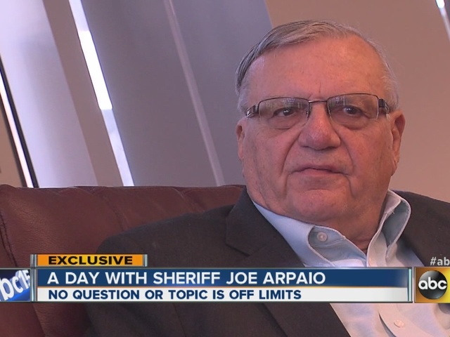 Sheriff Joe Arpaio interview Part II