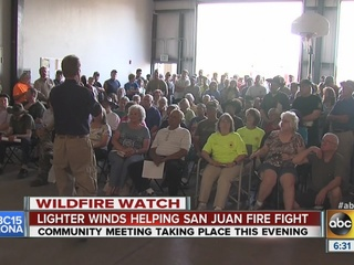 Officials: San Juan Fire not a threat to Vernon