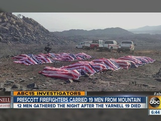The men who brought the Yarnell 19 home