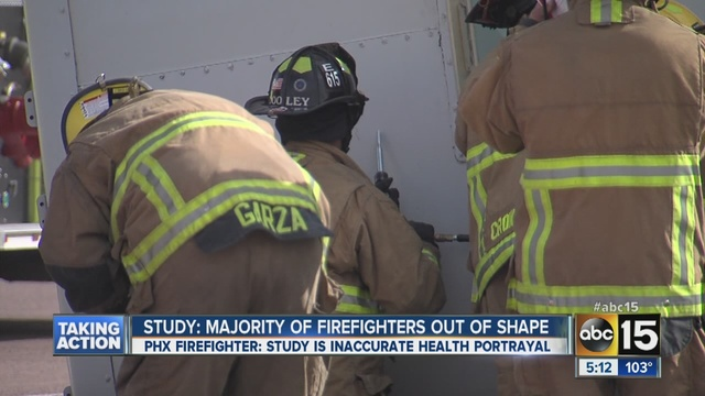 Overweight firefighters more likely to attempt weight loss if advised by doctor