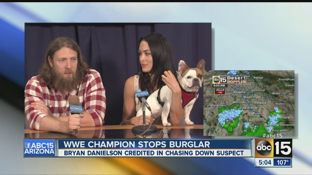 Daniel Bryan Daughter Wwe Star Daniel Bryan Stops