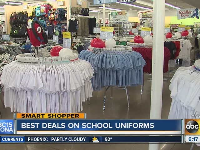 Where to find the best prices on school uniforms