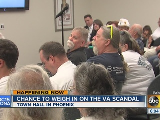 VA town hall addresses veterans' concerns