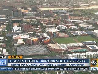 Welcome back! ASU students start classes today