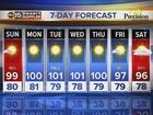 FORECAST: Slight storm chance