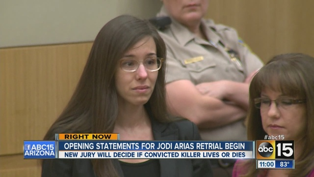... retrial to begin on whether Arias should get life or death sentence