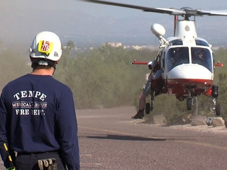 4 people rescued from Valley hiking trails