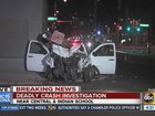 PD: 1 killed in crash on Central/Indian School