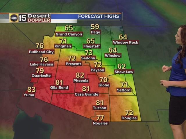 Arizona Weather Forecast - Weather doppler az