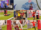 PHOTOS: Football fans attend 2015 NFL Experience