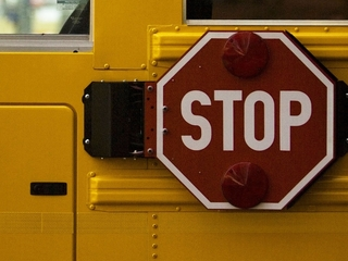 Truck smashes into school bus in Litchfield Park