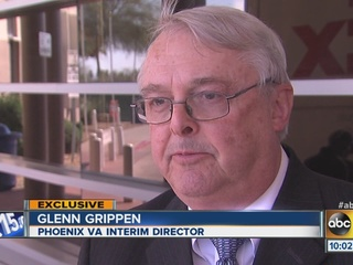 Phoenix VA head talks meeting with President