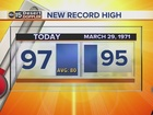 FORECAST: More record highs?