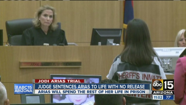 Jodi Arias update: Arias gets life term with no chance for release ...