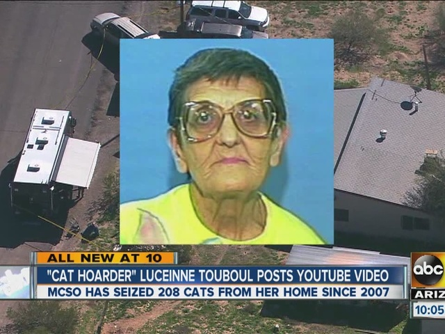 wittmann women For the fourth time since 2007, an elderly arizona woman who has a history of freezing and eating cats is under investigation for cat hoarding when deputies got word last week that lucienne touboul, 85, was in the hospital and no one was looking after her animals, they went to her home in wittmann.