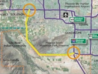 Drilling starts for South Mountain freeway