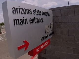 Who's smuggling contraband in AZ state hospital?