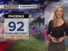FORECAST: 90s on Memorial Day
