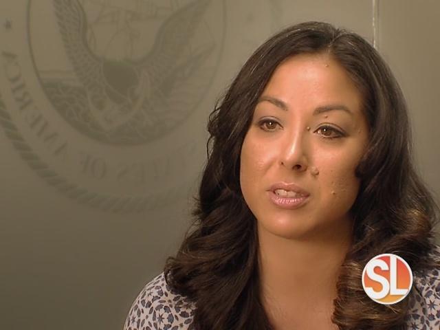 Sanderson Ford honors USMC vet Joanna Sweatt