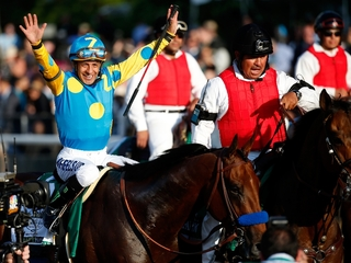 Jockey donating Belmont Stakes purse to charity