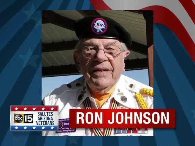 ABC15, Sanderson Ford salute: Ron Johnson