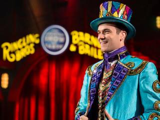 Ringling Bros perform final circus show live