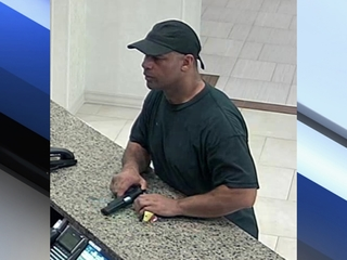 Man suspected in Peoria bank, hotel heists