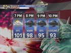 FORECAST: Valley storms possible