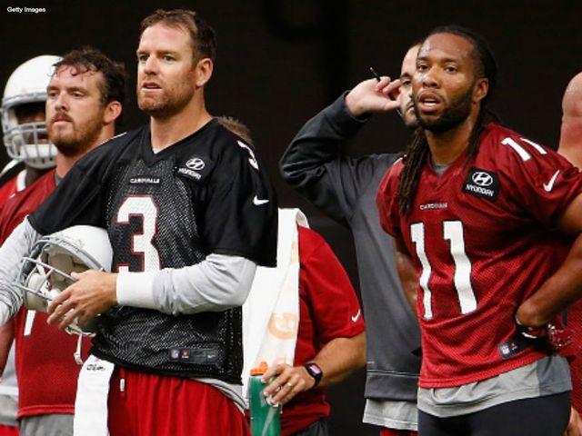 NFL Jersey's Pro Line Mens Arizona Cardinals Larry Fitzgerald Alternate Jersey