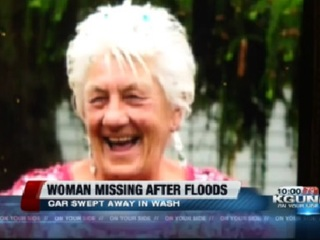 AZ woman missing after car gets stuck in wash