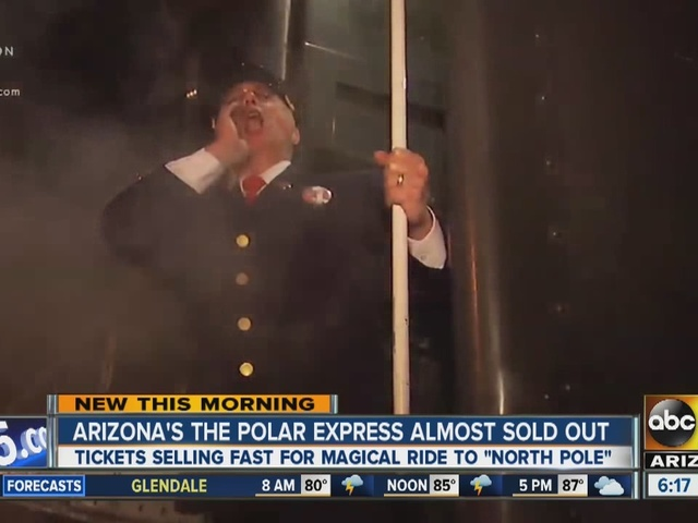 Arizona's Polar Express train ride filling up fast ahead of Christmas ...