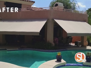 Get outside with a perfect patio shade
